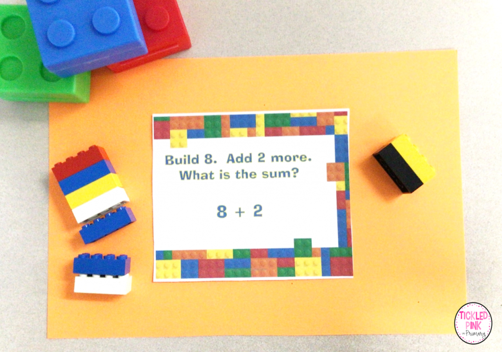 Free building block addition and subtraction free teaching resources.