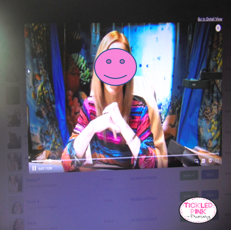 Flipgrid virtual learning app student video grid post