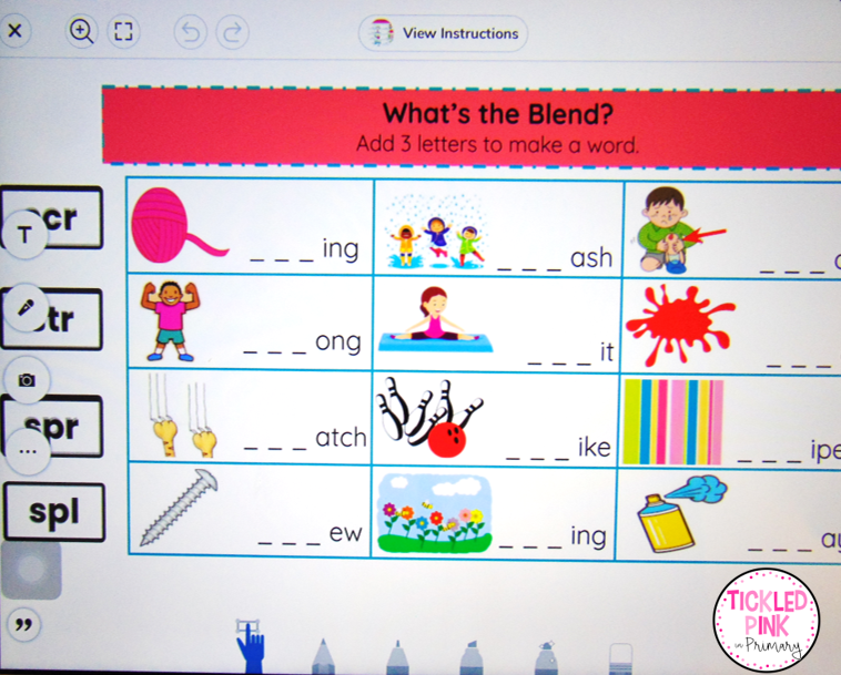 Seesaw learning app for virtual learning