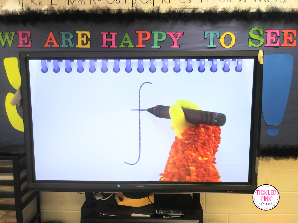 Kids learn letter formation with Squigglet in these engaging phonics videos.