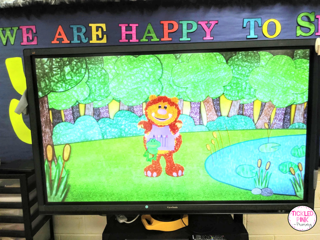 These all inclusive phonics videos include interactive practice for letter names, sounds, how to write the letters along with Squigglet and other kids.