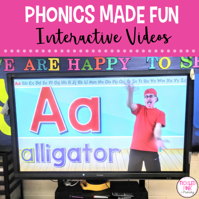 Phonics learning made fun with interactive alphabet videos.