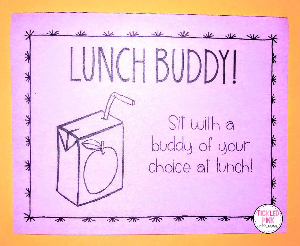 Free l lunch buddy student reward.