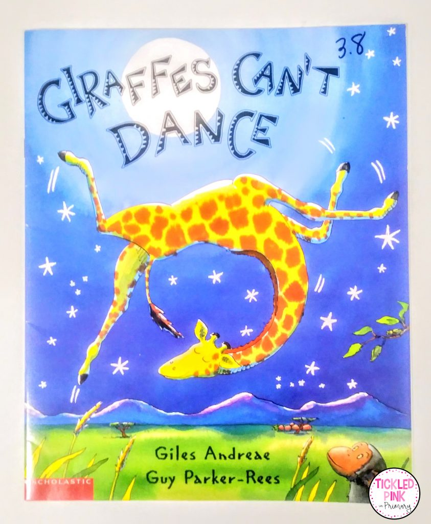 The book Giraffes Can't Dance is a great read aloud for teaching individuality.