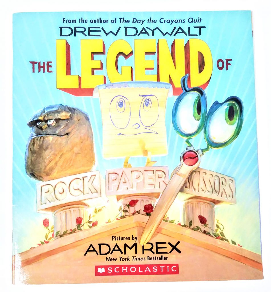 The Legend of Rock Paper Scissors is a great read aloud to boost student confidence in a fun and engaging way!