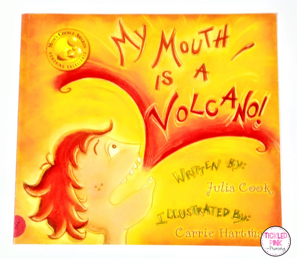 My Mouth is a Volcano a fantastic read aloud option for character education with a focus on self regulation.