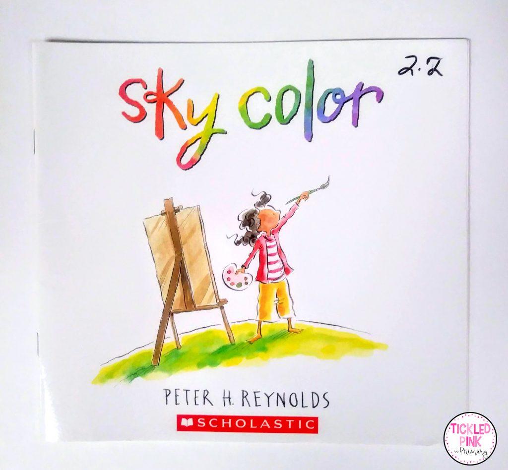 Sky color read aloud for building confidence.