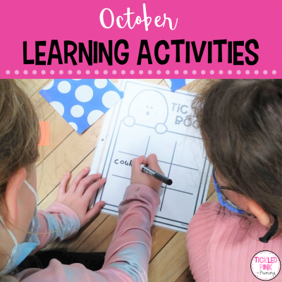 October learning activities for the classroom.