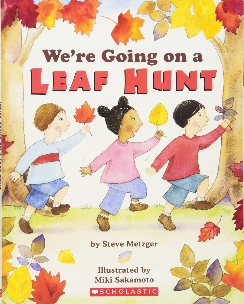 We're going on a leaf hunt read aloud book perfect for Fall.