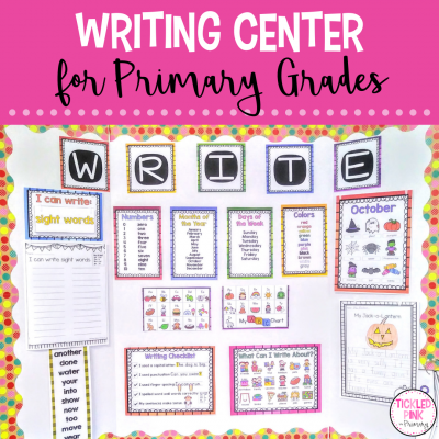 Writing Center for Primary Grades